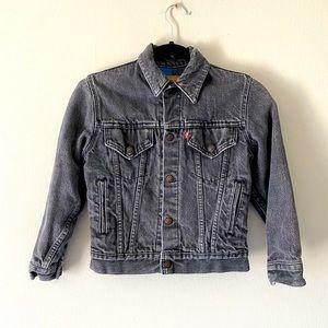 Vintage Levi's Gray Denim Trucker Jacket